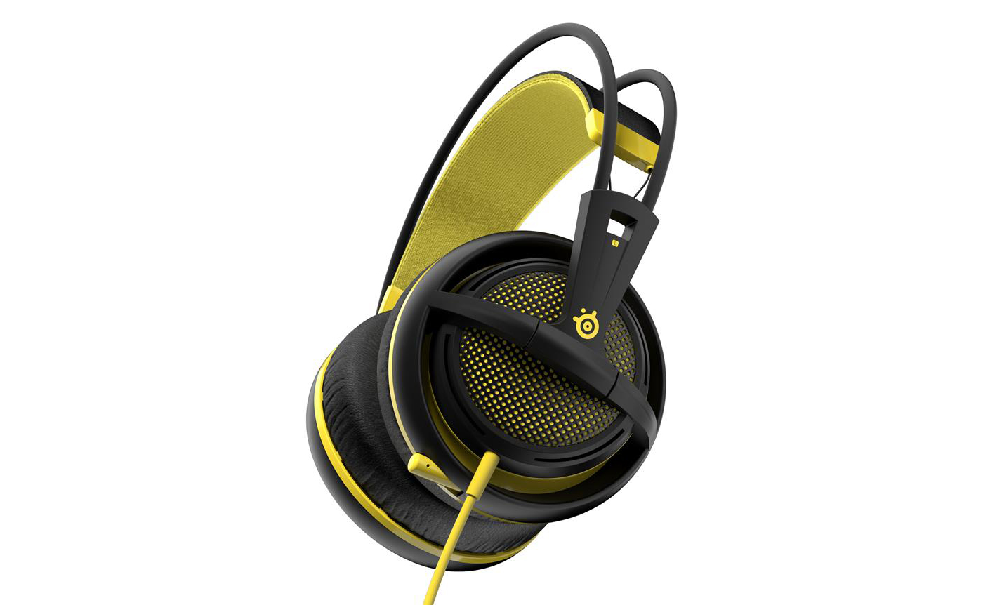Headphones SteelSeries Siberia 200 Gaming Proton Yellow